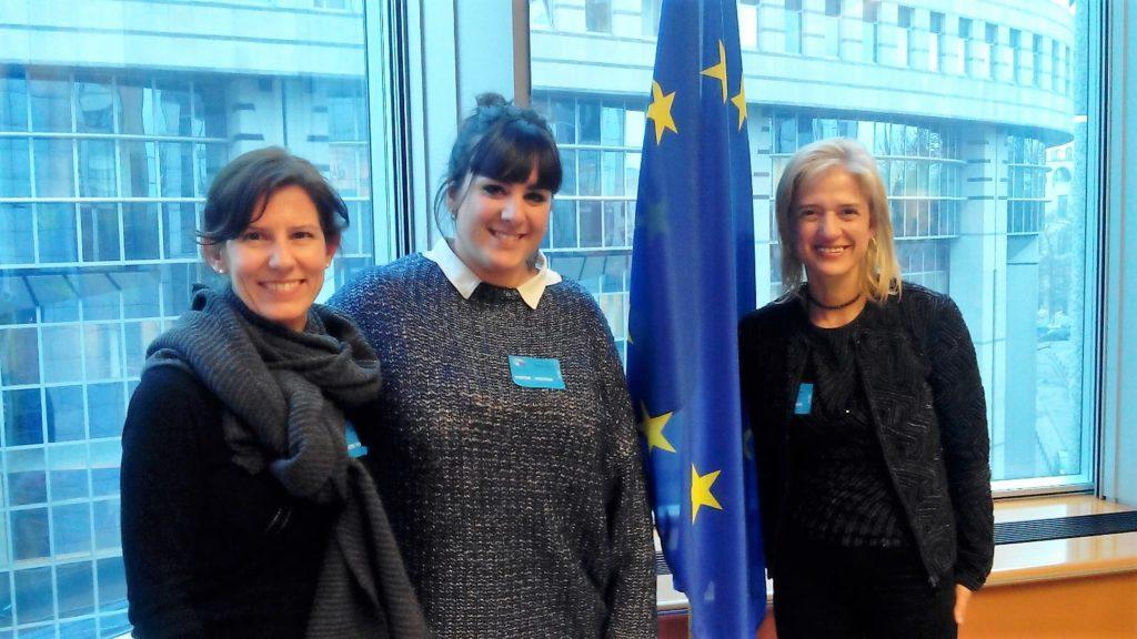 L'Observatori visita el Parlament Europeu