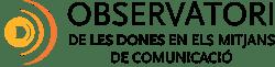 Observatori de les dones en els mitjans de comunicació Logo